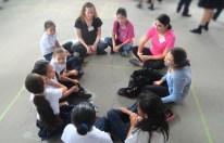 Volunteering at a rural school