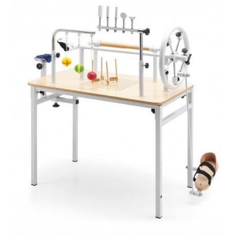 Mesa de manos mesa de manos con pedal Rehabilitacin