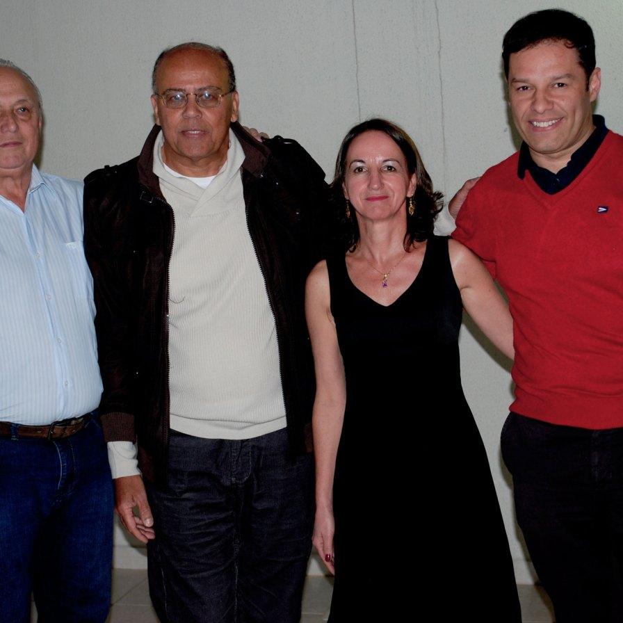 Luiz Antônio de Almeida, Iraci Sobral, Leôncio Ubiratan Peres e Robert José Isidoro