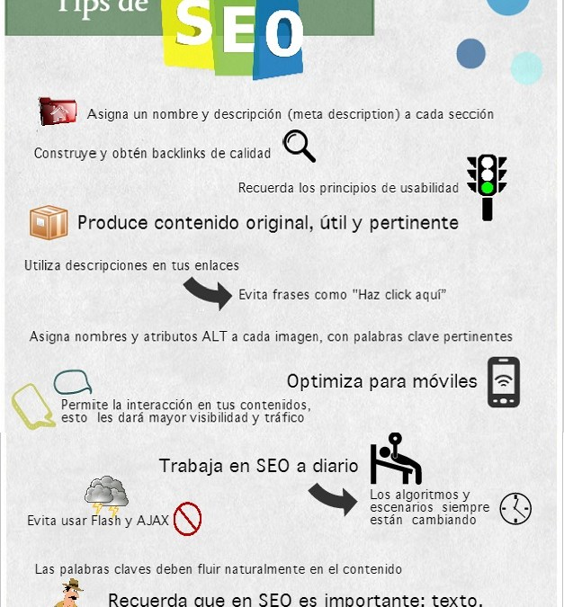Tips de SEO- Infografía