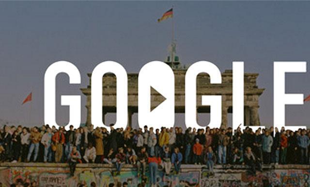 Google y el Muro de Berlín: Contenidos en formato de video