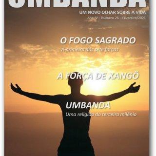 Capa da revista UMBANDA - 26