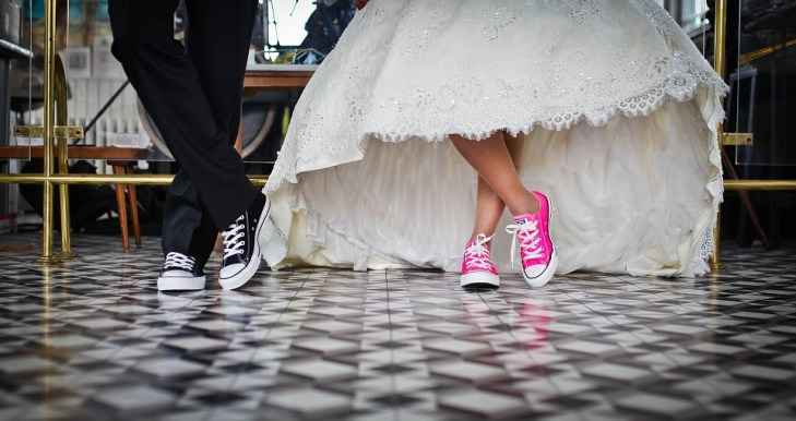 Chuck Taylor wedding attires