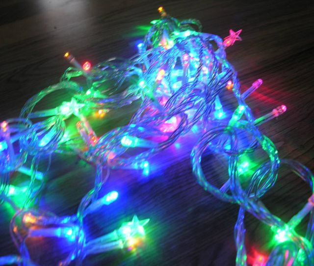 Picture Of Arduino Controlled Flashing Christmas Fairy Lights With Jingle Bells