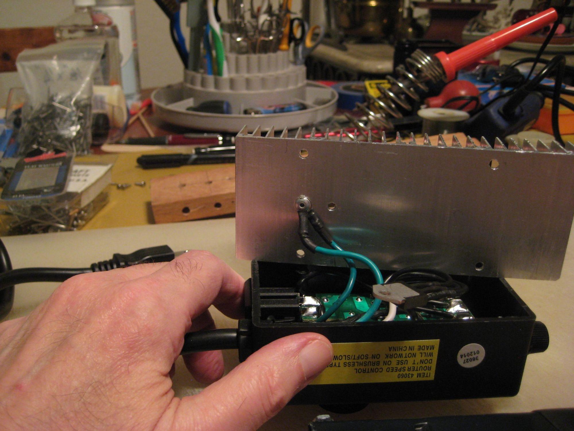 hight resolution of ground wires