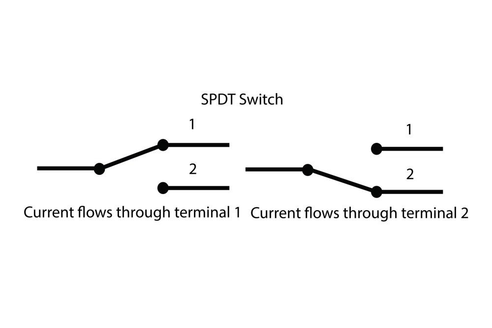 medium resolution of single pole double throw