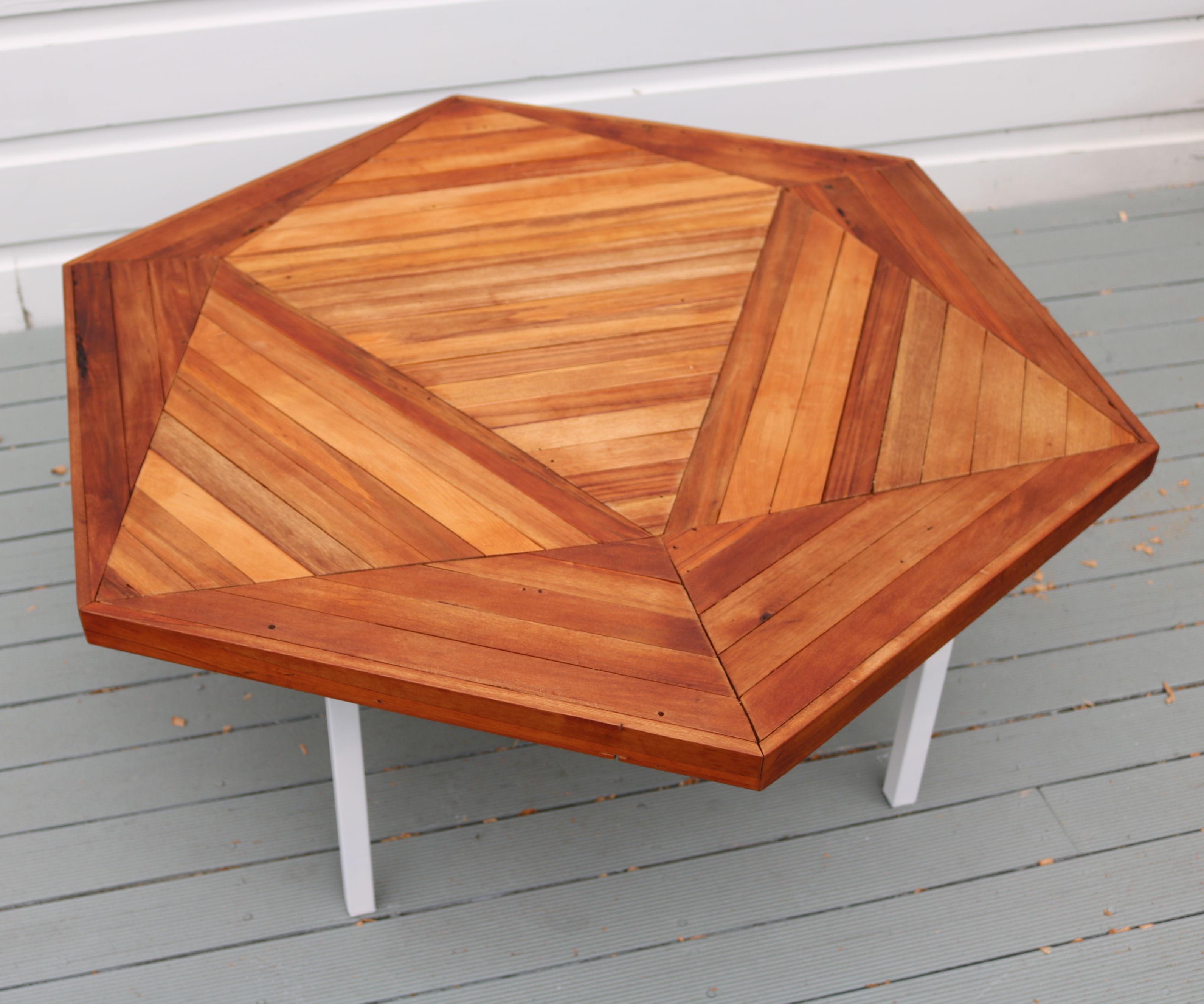 making scrapwood coffee table 11