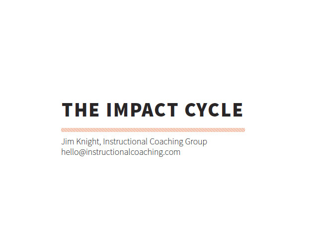 Impact Cycle Handout