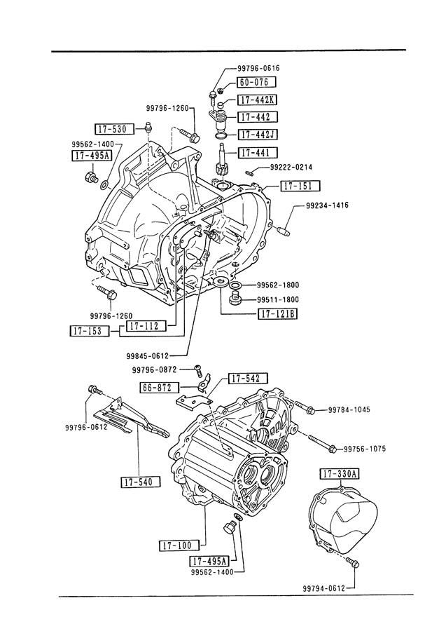 1995 Mazda Protege Service & Repair Manual Software