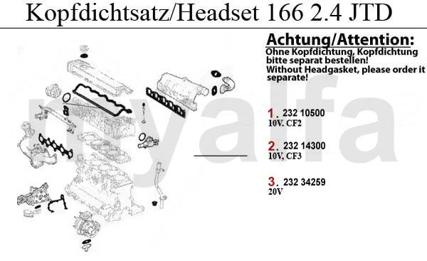 Download ALFA ROMEO 166 2.4 JTD 20V 1998-2008 Full Service