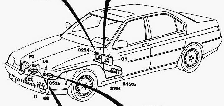 Alfa Romeo 164 CarDisc Image Service repair manual
