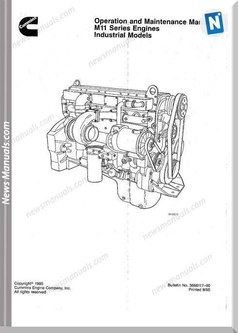 Cummins Service Diesel Engine M11 STC Celect Plus