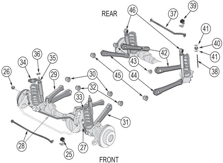 2003 Jeep Grand Cherokee Service & Repair Manual Software
