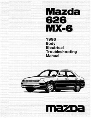 Download Mazda 626 MX-6 1996 Service repair manual