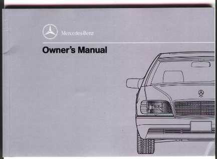 Download Mercedes 600 SEL 1992-1993 Service Repair Manual