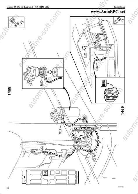 Download Volvo FM Truck Wiring Diagram Service Manual