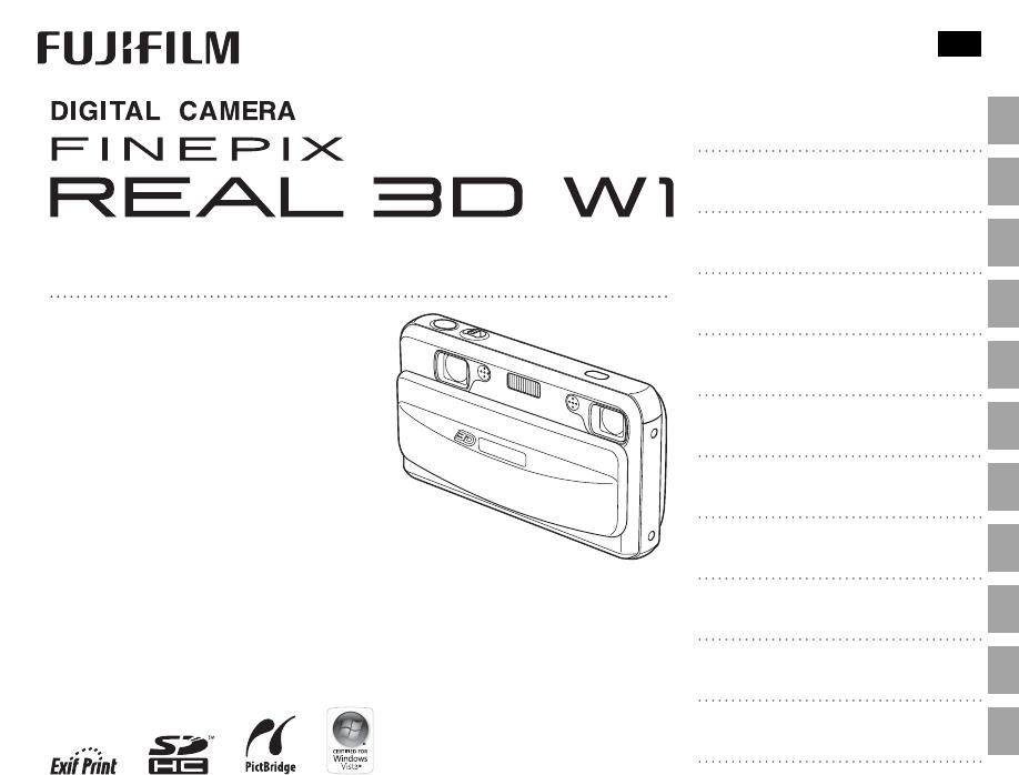 Instrukcja obsługi Fujifilm FinePix Real 3D (128 stron)