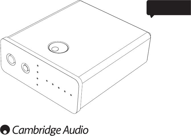 Instrukcja obsługi Cambridge Audio DacMagic 100 Azur (19