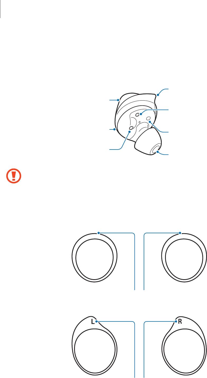 Instrukcja obsługi Samsung Galaxy Buds (46 stron)