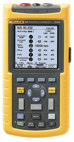 Fluke 125 ScopeMeter Test Tool  Oscilloscopes  Instrumart