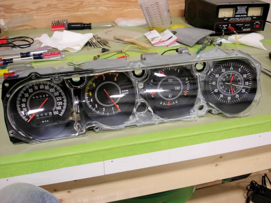 70 Cuda Rallye Cluster Instrument Specialties