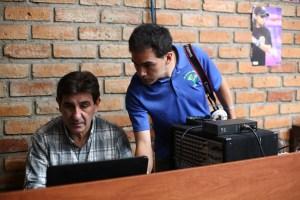 Helping in Ecuador
