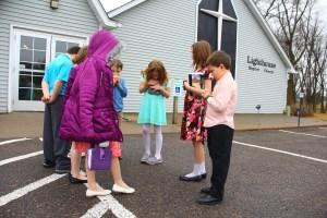 Sunday School Prayer Walk
