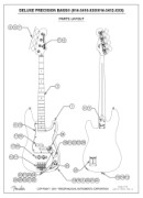 Fender Deluxe Active Precision Bass Special Manual Downloads