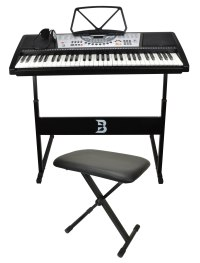 Electronic Keyboard Set Including Bench, Stand and ...
