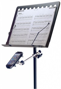 Smart Phone and Tablet Holder for Mic Stands with Arm ...