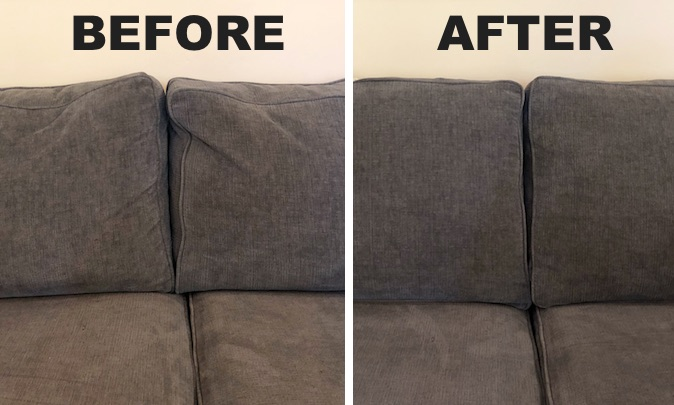 best way to fix a sofa bed dual reclining covers tip how saggy couch cushions life hack everyone should