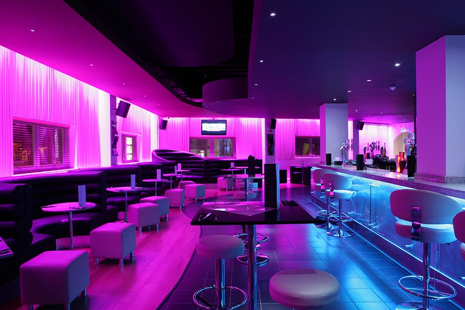 Sence Bar  Nightclub in the Arcadian Birmingham  InStyle LED