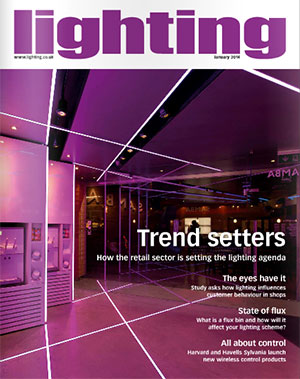 InStyle LED Design Featured On Lighting Industry Magazine Cover
