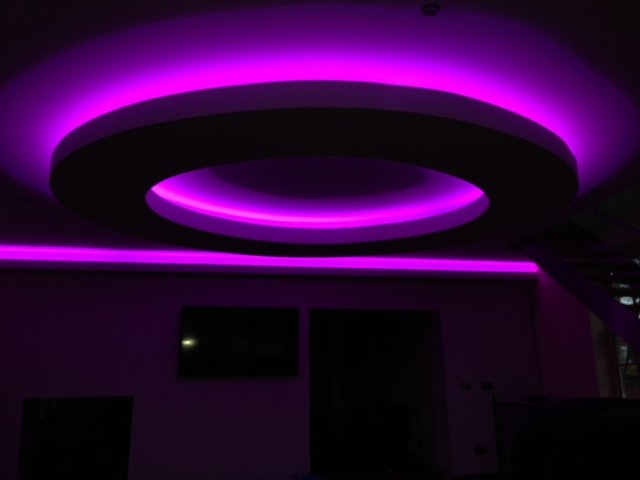 Colour Changing Led Wall Lights