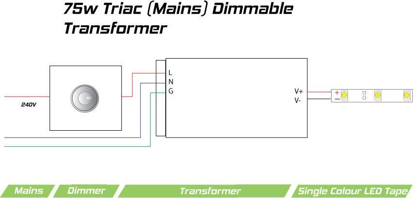 12v Downlight Transformer Wiring Diagram