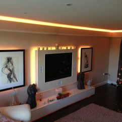 Led Light Strips Living Room Wall Units India How Bright Should My Tape Be Highlights Add Accent To A Space By Creating Complementary Lighting Tones Or Drawing Attention Features And Objects Here Are Some Examples