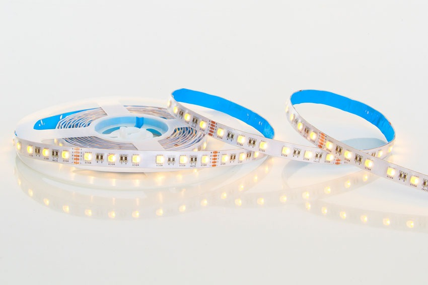 20 Watt RGBW LED Tape 24 Volts Colour Changing