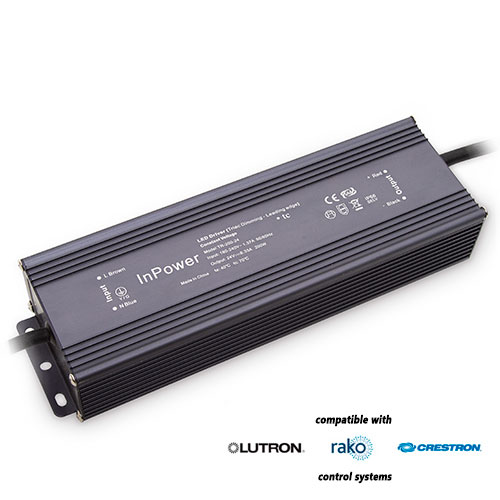 12v led downlight wiring diagram club car precedent gas 200w dimmable transformer (ip rated)