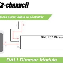 Dali Led Driver Wiring Diagram 69 Mustang Under Dash 2 Channel Dimmer Module 5 Amps Per