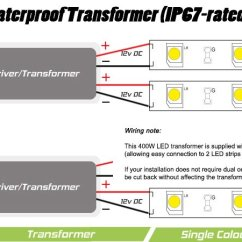 Wiring Diagram For Downlights With Transformers Plant And Animal Cell Worksheet 24v 400 Watt Ip67 Transformer Instyle Led Tape