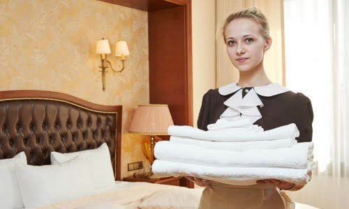 Cleaning servis hotel