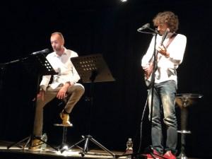Milano, Teatro Blu (17 settembre 2017 ) con Dario Maria Dossena