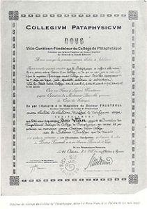 Diploma di Boris Vian