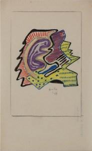 Senza titolo (1949), penna e pennarello su carta cm 23x14,5, courtesy museo mmmac