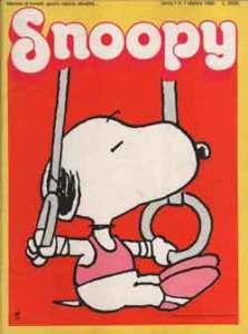 Snoopy (ottobre 1986), numero 1