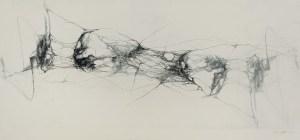 Gianna Bentivenga MUTAMENTI II, acquaforte su zinco , cm 140x60, 2019