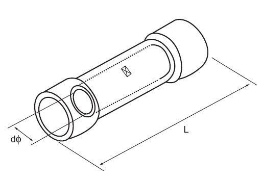 BHT Copper Heat Shrink Connector Kit , PE Sleeve