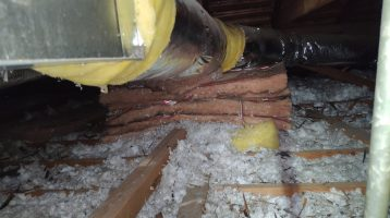 Inspection Process for New Attic Insulation