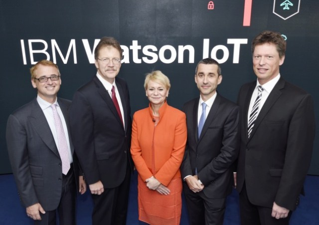 IBM, joined by top European clients, opens its Watson Internet of Things (IoT) global headquarters in Munich, Germany