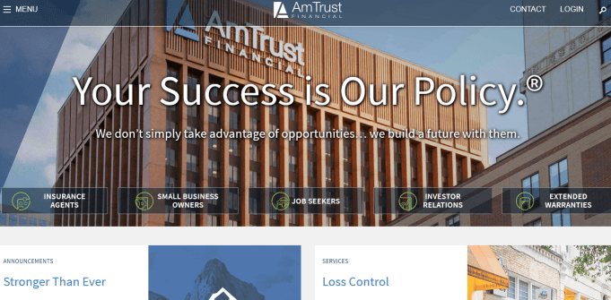 Amtrust Insurance Login www.amtrustfinancial.com